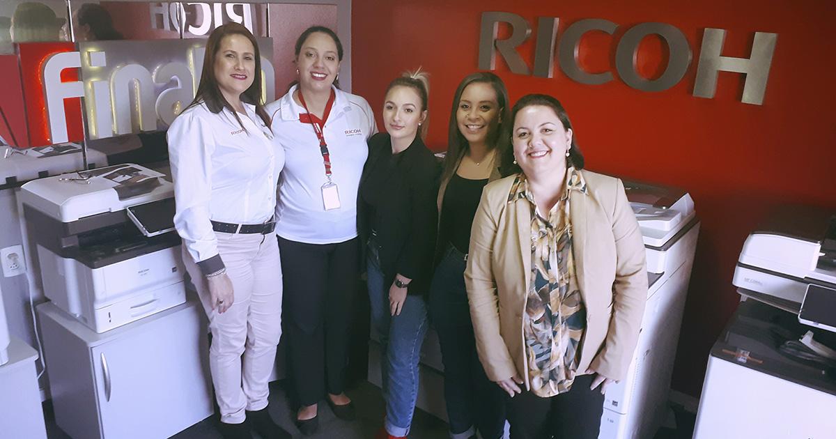Treinamento Ricoh Equipe Comercial Finatto