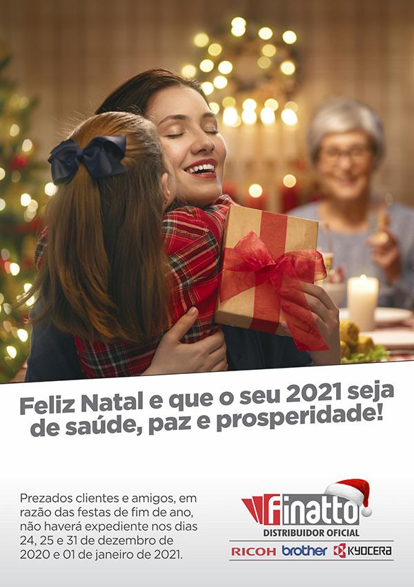 Um Feliz Natal e Próspero Ano Novo!