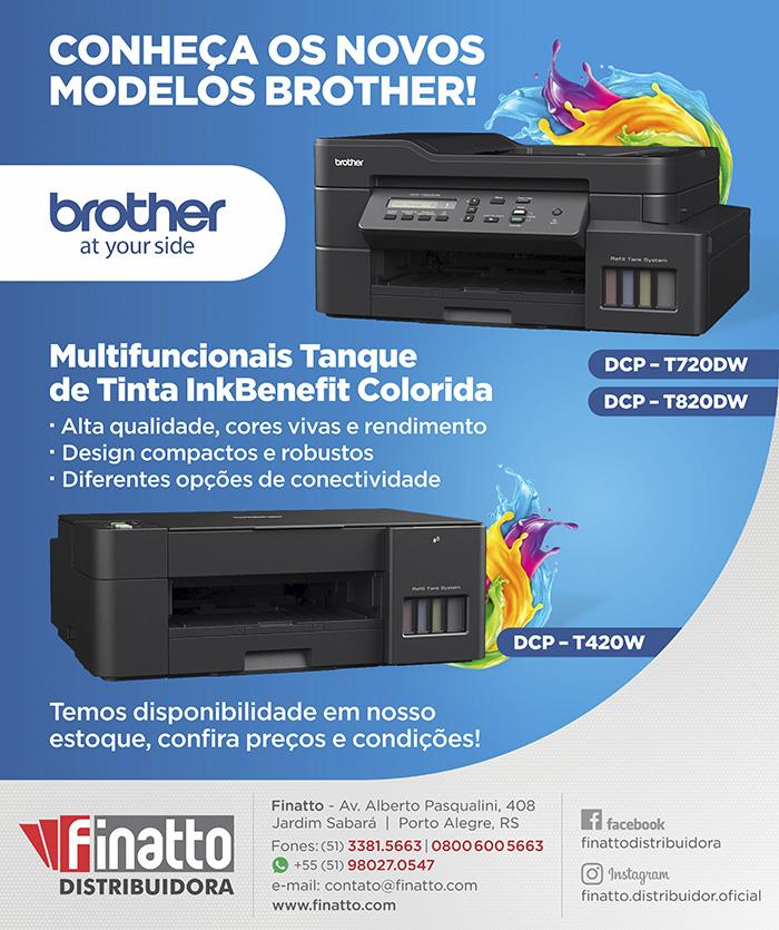 Conheça os novos modelos BROTHER!