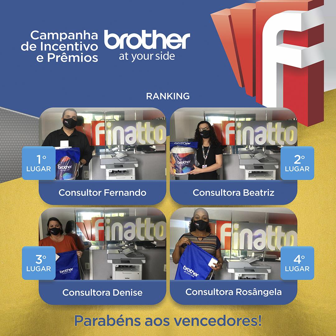 Campanha de Incentivo e Prêmios BROTHER