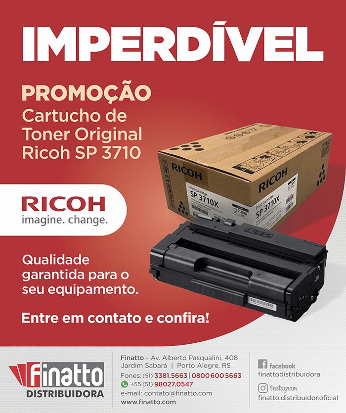 IMPERDÍVEL Promoção Cartucho de Toner Original Ricoh SP 3710